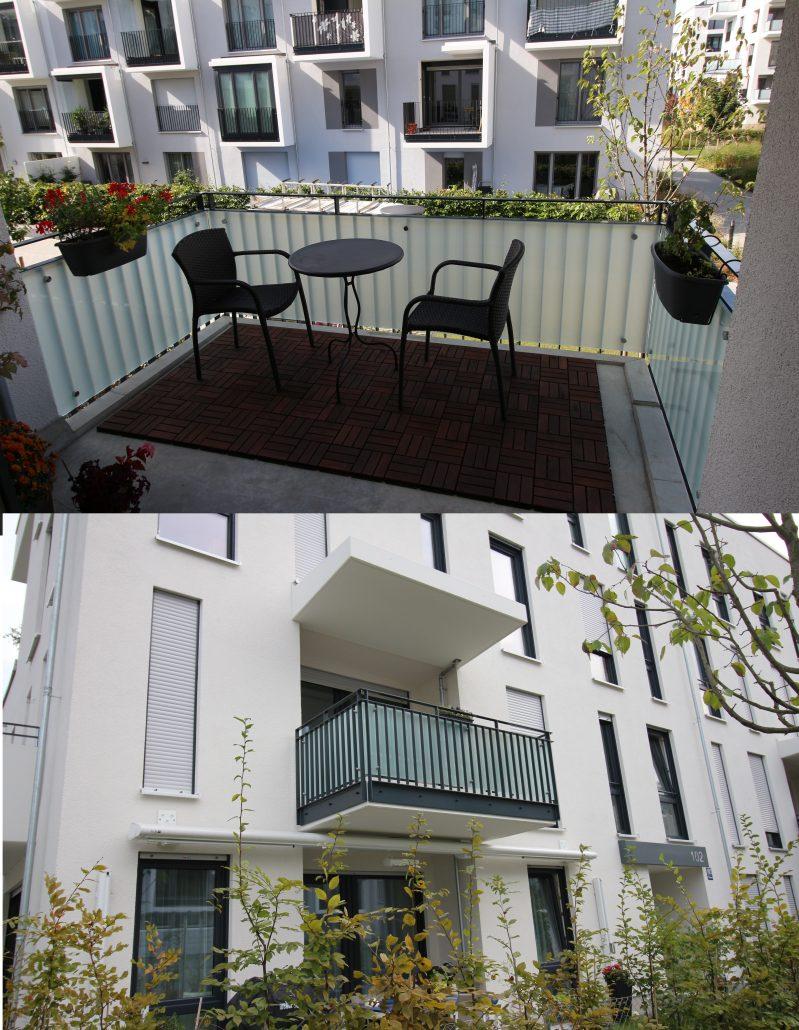 Balkon glaserei glasteam münchen