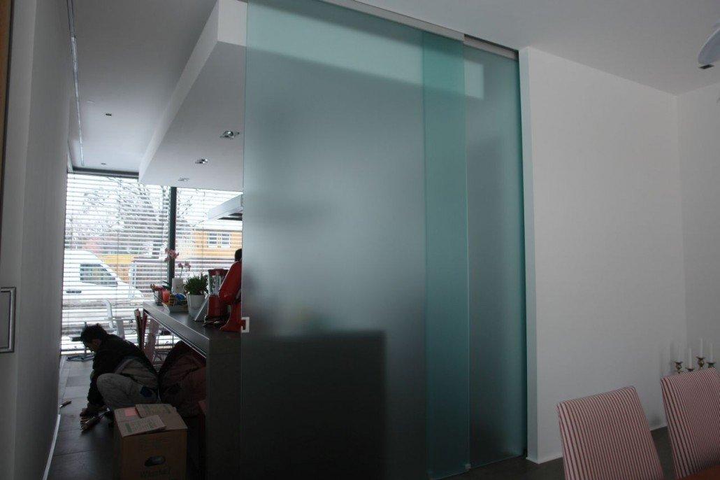 Schiebetür glas küche  Glas Schiebetüren - vom glas|team München